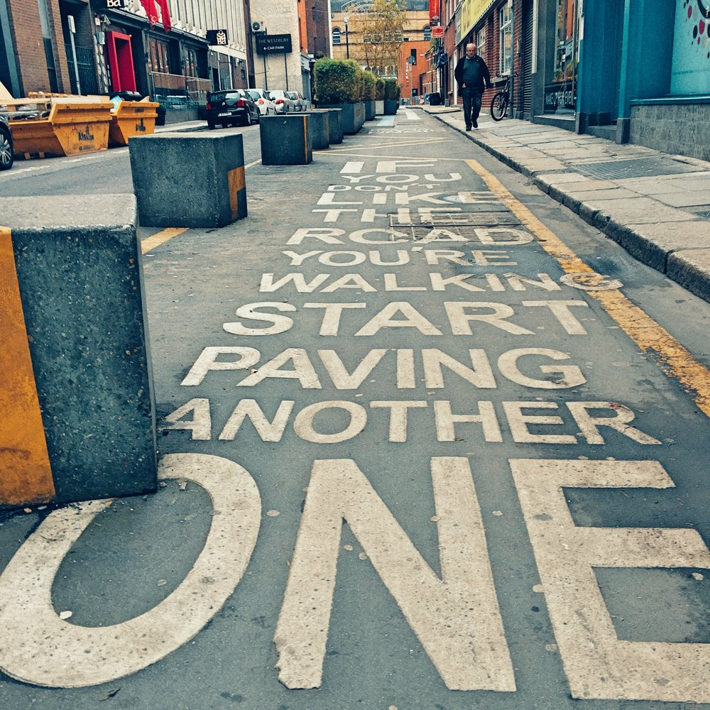Dublin's street advice