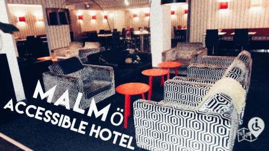 Malmö Scandic St Jörgen hotel lobby