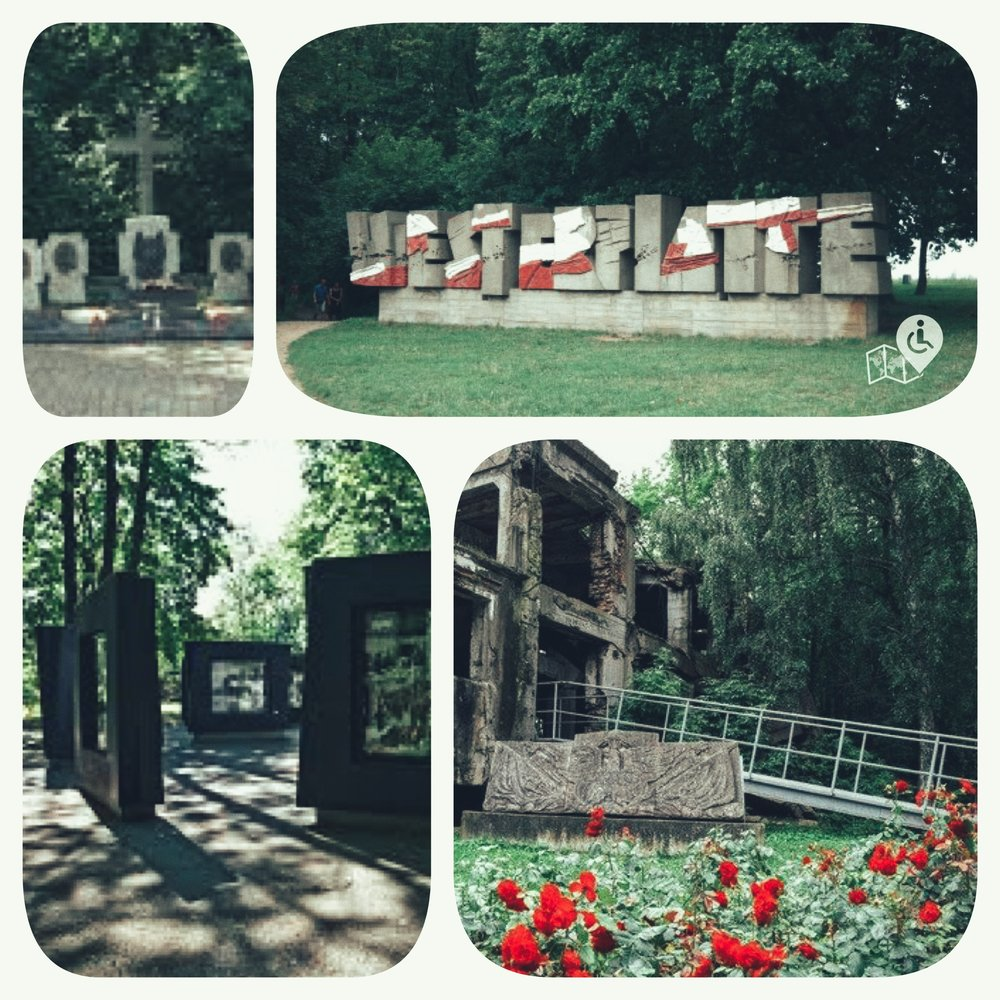 Westerplatte is where the first shots of the Second World War were fired by a German battleship on 1 September 1939.