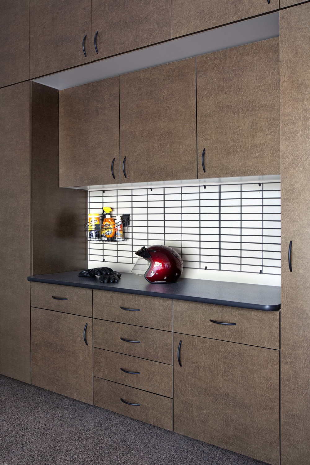 Bronze Cabinets with Inset Ebony Star Workbench-Angle-Costa May 2013.jpg