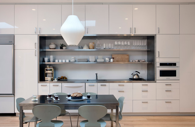Small Kitchens   Kitchens are where more of us are living than ever before. But what if we don't have room for the island and the dining nook and giant industrial appliances? Discover these small kitchen ideas that make big kitchens jealous.
