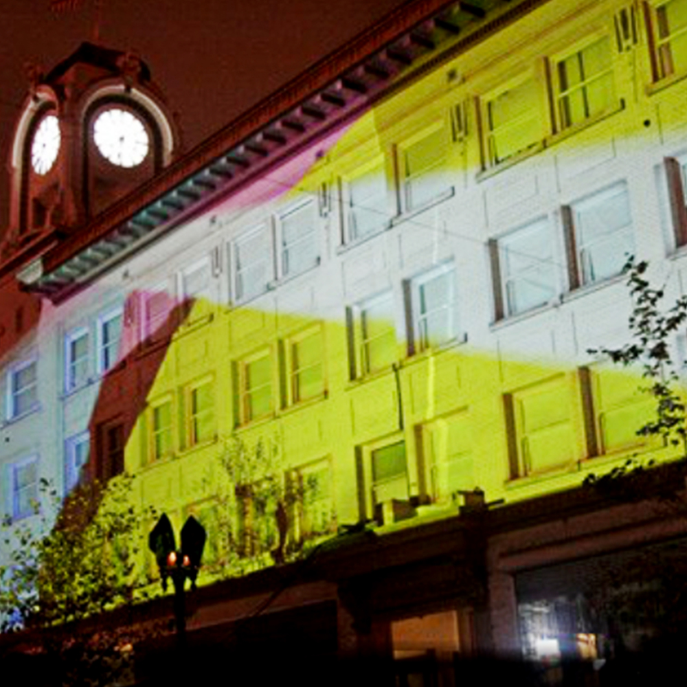 "<span style=""font-size:90%"">Downtown Santa Ana</span><br><br><b><span style=""font-size:140%;line-height:1.1;"">Lighting up the town</span></b>"