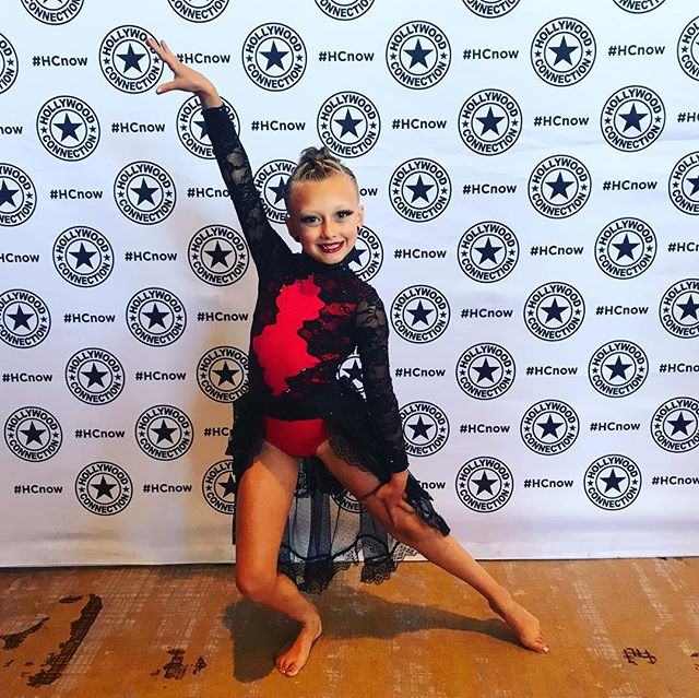 Good luck to this little diva getting ready for her solo @hollywoodconnectiondance nationals!! We love you KK!! @kayten_faye @amandy_olsen