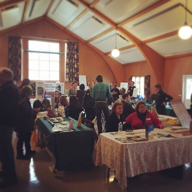 Bustling with positive energy + light here at the First Presbyterian Church in Cazenovia! Here talking about Plant Medicine in all of its many facets, serving up some hand blended tea + sampling some of my favorite essential oils! Come say hello! The Health + Wellness Fair is coming in till 2pm a dollar donation at the door + a chance to win a gift certificate from yours truly! 🙋🏼#plantbased #plantessences #plantmedicine #essentialoils #wisdomoftheearth #doterra #herbalmedicine #seasonalfoods #selfcare #wellness #holistic #integrativehealth #meetingoftheminds #cny #healthyfood #healthyeating