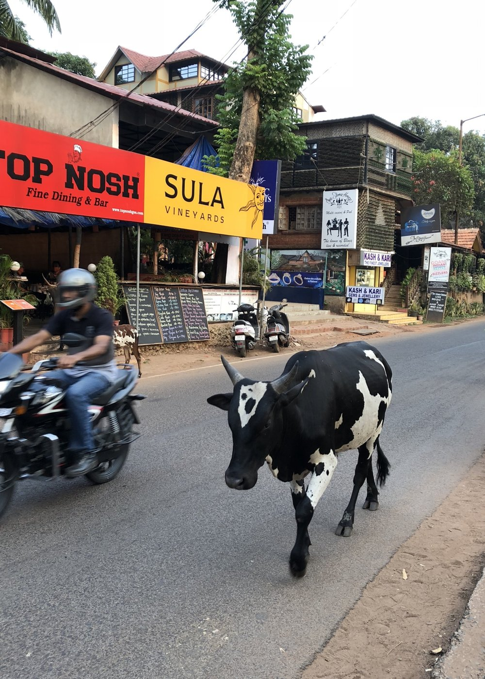 Traffic in Goa