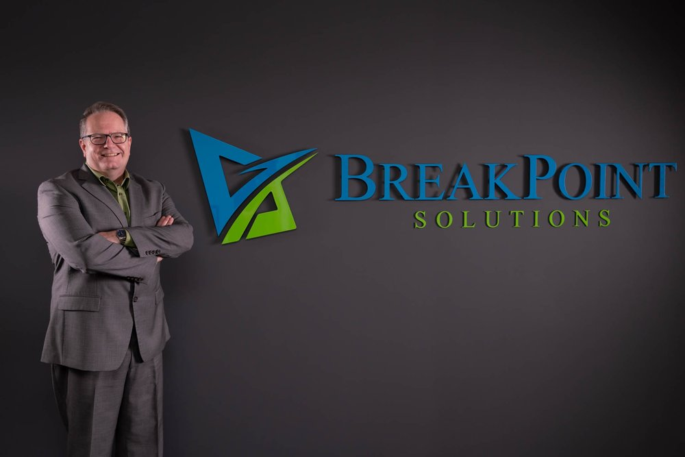 Dale Cooney: BSP, MBA, ACC, CEC   Dale is a partner in BreakPoint Solutions; he is an Associate Certified Coach through the International Coach Federation.