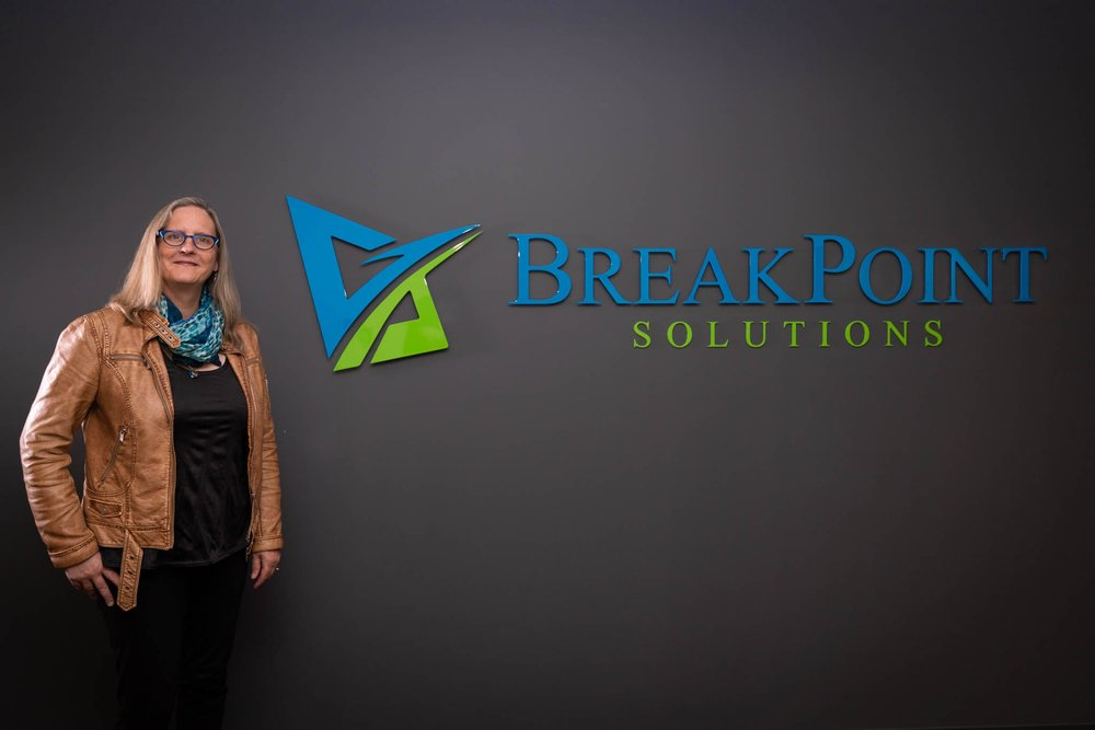 Tanya Lanigan: BED, MED, PCC, CEC     Tanya is a partner in BreakPoint Solution; she is Professional Certified Coach through the International Coach Federation.
