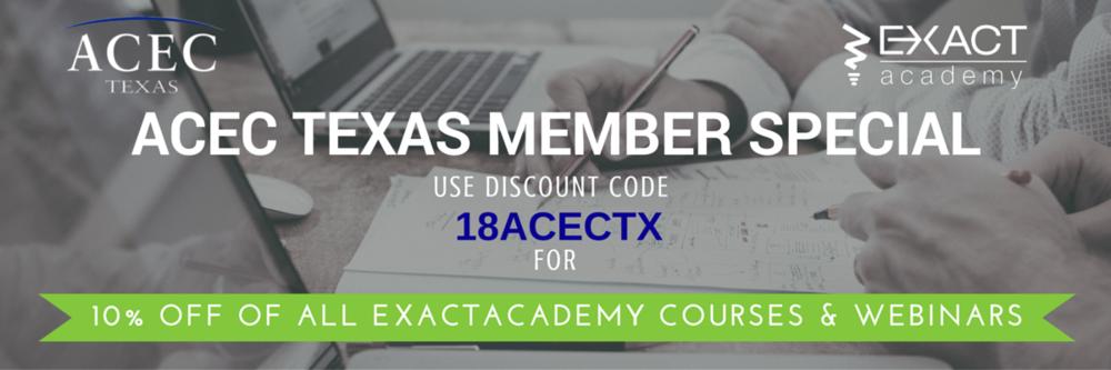 ExactAcademy Discount ACECTX