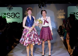 Winning designer Andrea Hurtt for Amaryllis with Develop Model Bailey. Photo by AJ Brown.