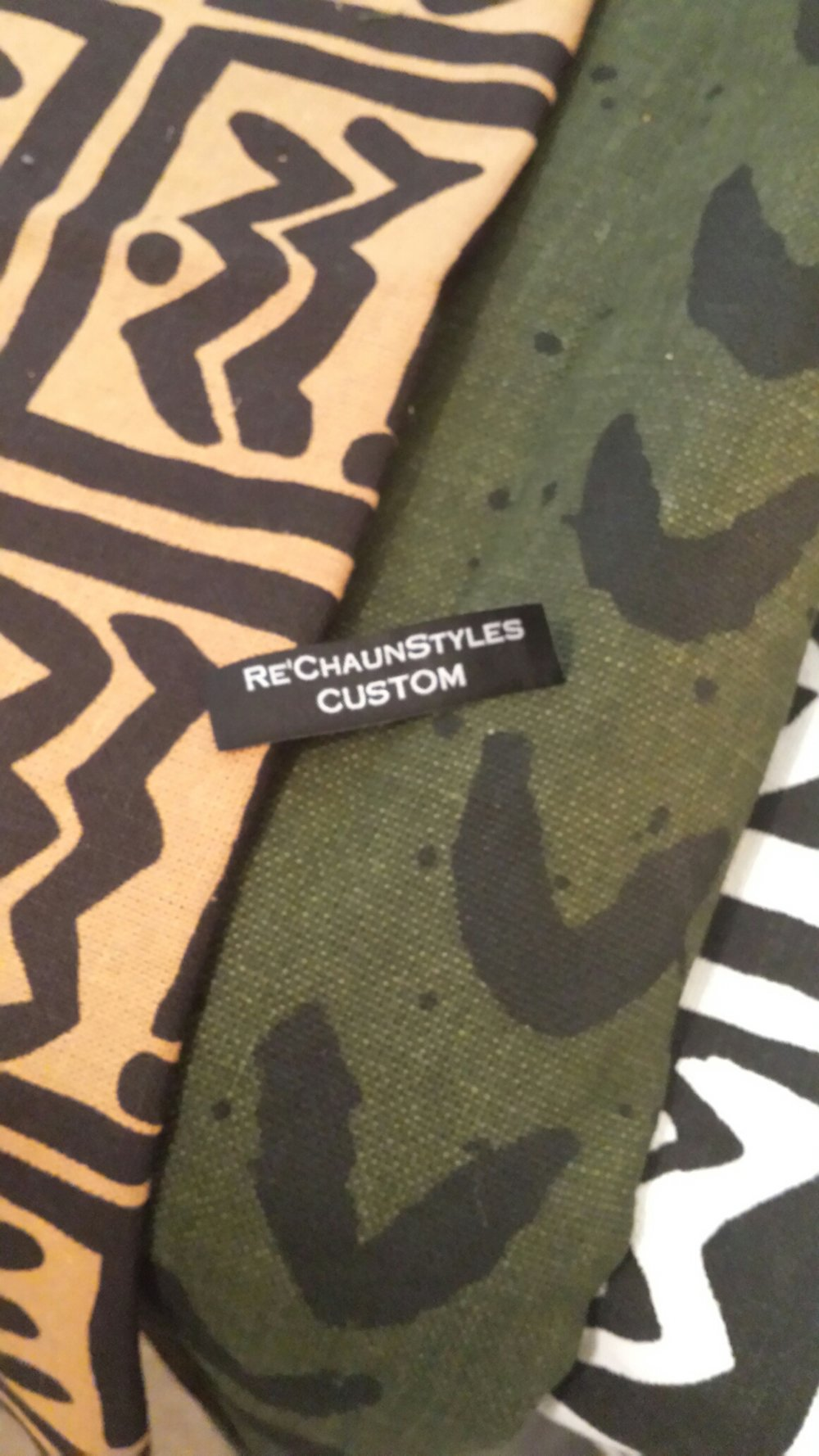 Fabrics for Re'ChaunStyles upcoming collection