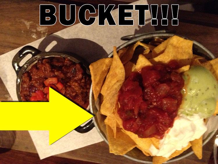 Bucket o' 'chos!!!