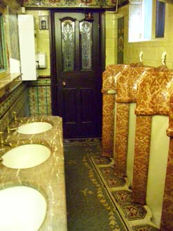 Historic bathrooms!