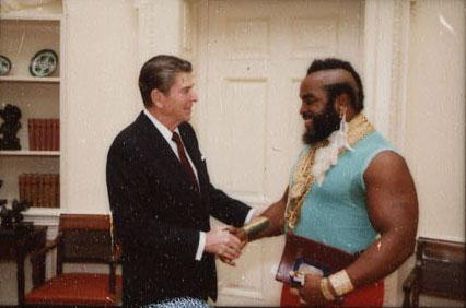 Election 2018 Special Ronald Reagan Meets Mr T Scott Calonico