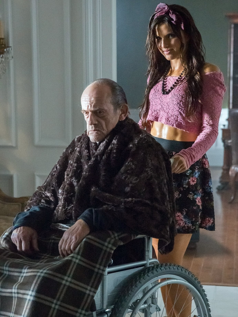 Christopher Lloyd and Rachele Brooke Smith
