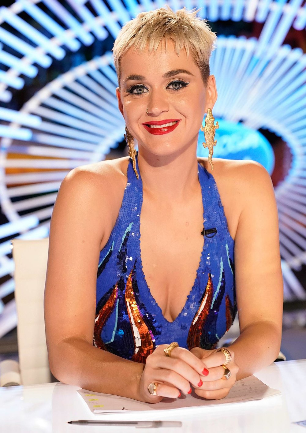 Katy Perry Photo: ABC/Alfonso Bresciani