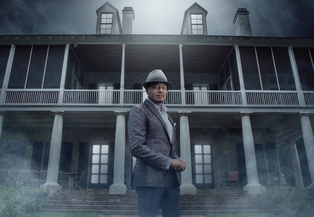 """Key Art of Terrence Howard on """" TERRENCE HOWARD'S FRIGHT CLUB """"premiering Thursday, May 24 (8:00-9:00 PM ET/PT) on FOX. ©2018 Fox Broadcasting Co./Alfonso Bresciani ( Click photo for larger image)"""