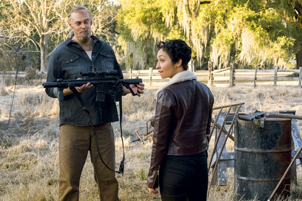 Jeremy Childs as Jody, Ruth Negga as Tulip O'Hare - Preacher _ Season 3, Episode 2 - Photo Credit: Alfonso Bresciani/AMC/Sony Pictures Television