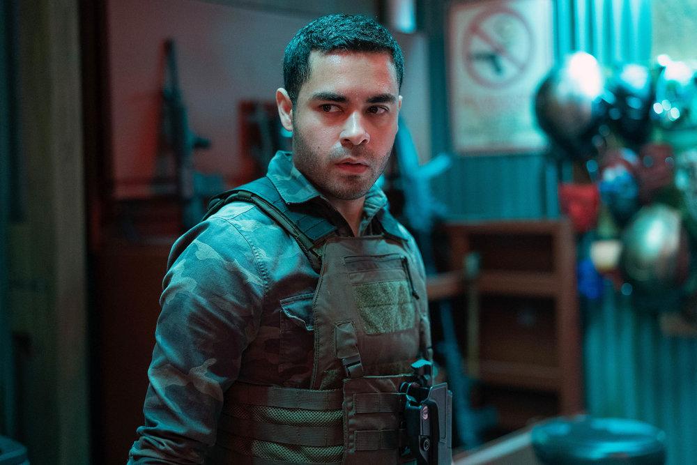Gabriel Chavarria as Miguel  Alfonso Bresciani/USA Network