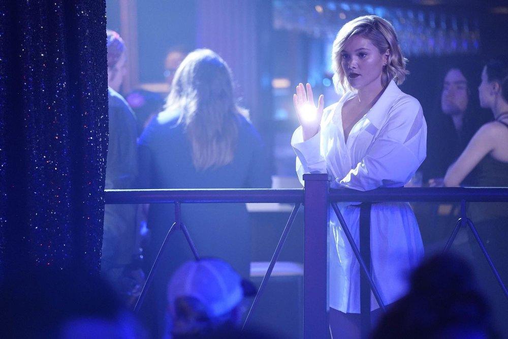 Olivia Holt as Tandy in Cloak & Dagger Season 2  Alfonso Bresciani/ ©️2018 Disney Enterprises, Inc.