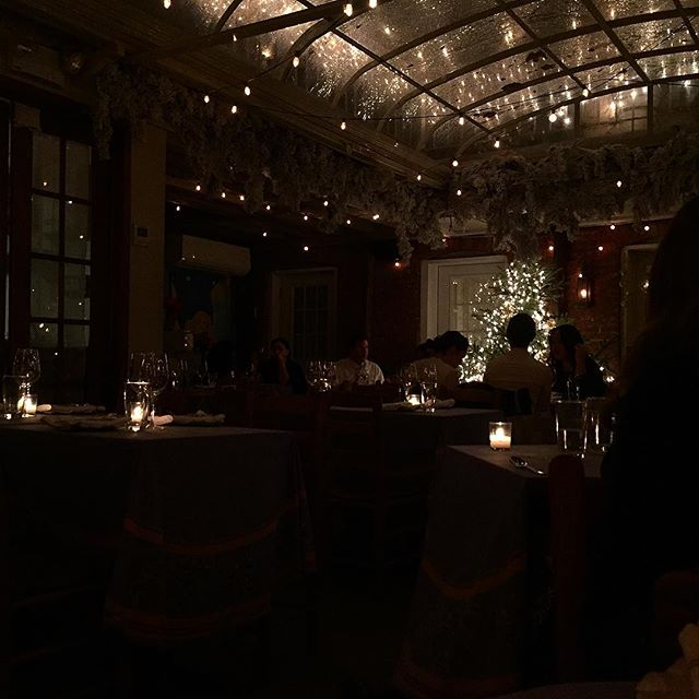 Birthday dinner vibes with @keita82 at one of my favorite Italian spots in the City!