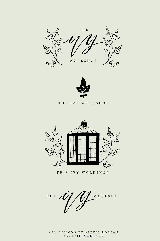 Logo Illustration. Ivy. Photographer. Branding Design..jpg