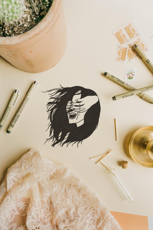 hand crafted logo. unique branding. artist logo-6.jpg