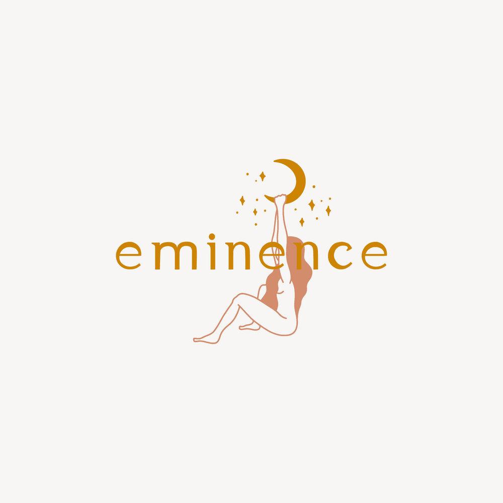 woman figure logo. feminine logo
