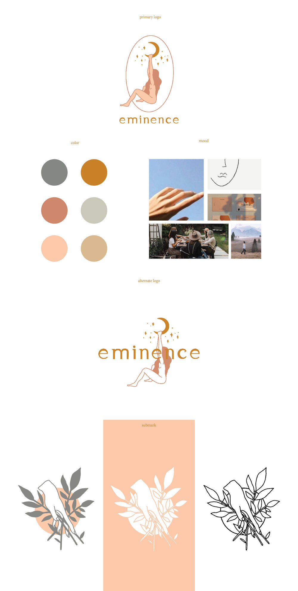 style guide for small business. feminine branding