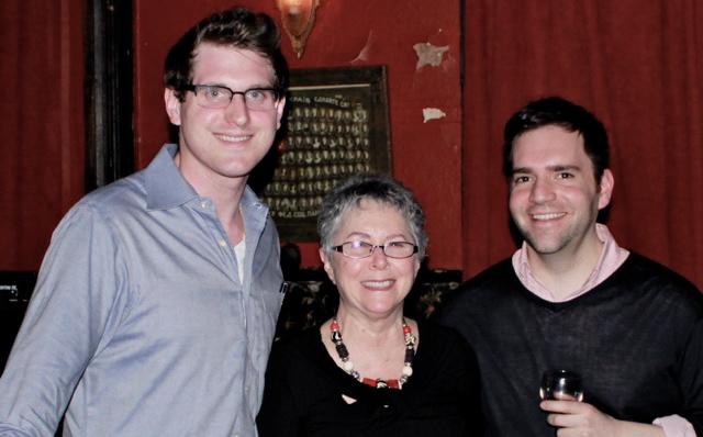 From L to R: Ryan Davenport, Gene Kraig, Athos Cakiades