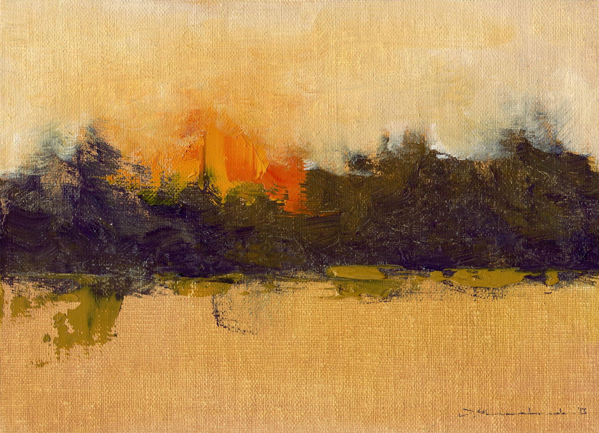 treeline dusk