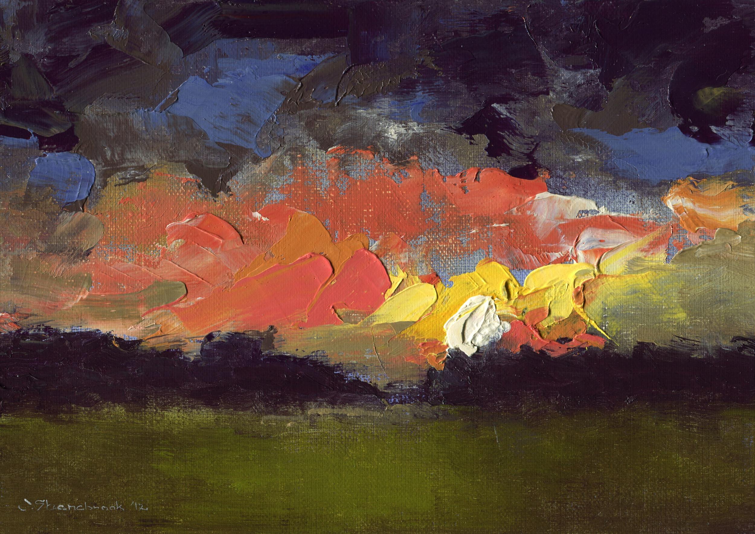 night meadow, elyria