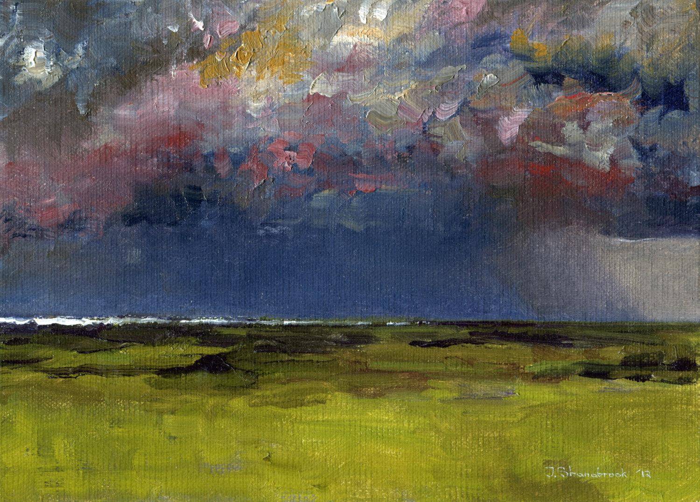 atlantic storm shore
