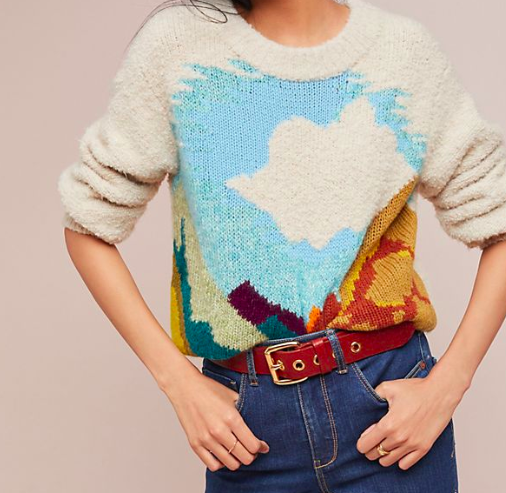 Anthropologie Landscape Sweater - SHOP HERE
