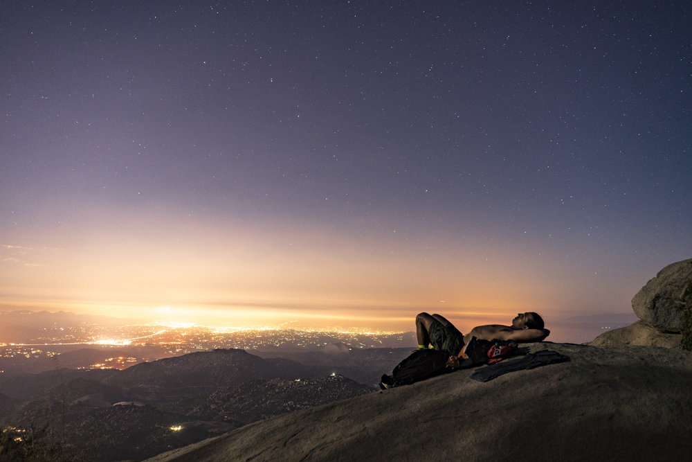 Perched up for Perseid meteor shower