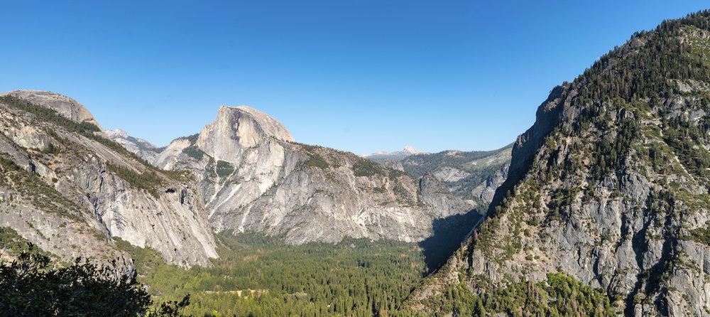Pit stop in Yosemite