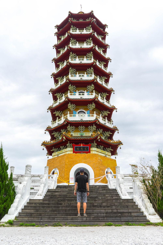 Chen tower in Sun Moon Lake