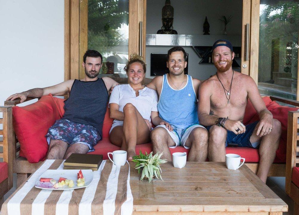 Jaxon, Kylie, Mark and I