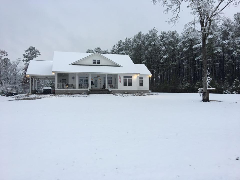 Snowfall, December 2017.