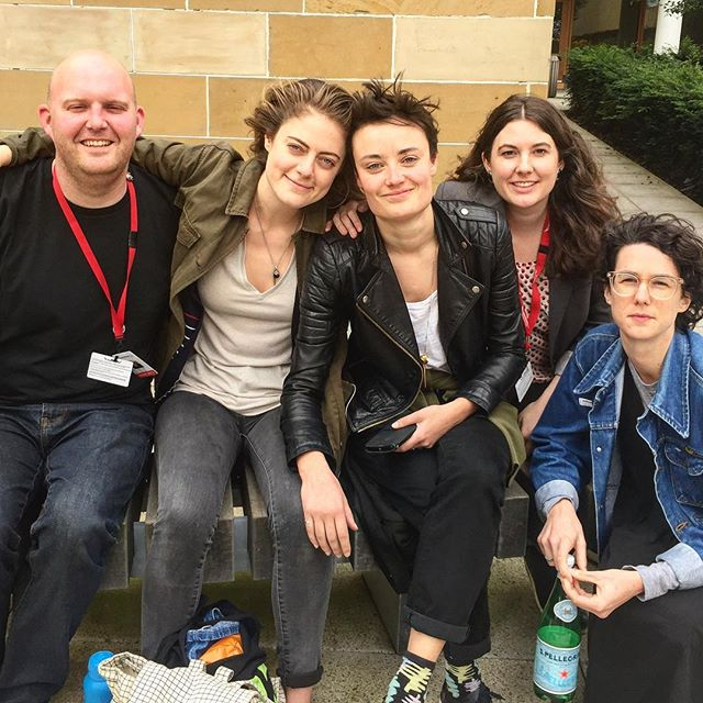 Team @wearejanedoe after our final performance yesterday at @edfringe. Thanks to @nzated & @creativenz for support and @assemblyfest for being an amazing venue! Thank you @edinburghrapecrisis for on the ground support and for the work that you do. New U.K. interviews by @nikkikane, @fauvealice & @molly.ohhh; research and advice from feminists Ella Edginton, @sophfrancescanz & @philippafiona; London hospo by @molly.ohhh & @laurenfrancesgibson. Technical wizardry by extremely competent men @jordanwharrison, @parkarstan and superstar @calvinhudson156 ! Shout out to our fellow Kiwis at Ed including @trickofthelightnz who kept us sane at home and @modernmaoriquartet for helping us relax at the bar (#strongbowdarkfruits #selfcare). For Jane Doe (USA) whanau - @cmudrama (where it all began), @mgriggz, @mynameisalexs, Rachel Abrams, @kdloney & @the_jess_klein and every person I've ever interviewed for this show over the last 3 years! Biggest aroha to our amazing NZ producers @jamsheets and @zanettiprod for the belief and the prowess. Thankful every day of my life for @karinlindsay who took care of every single audience member with generosity and love, across 24 shows. And our audiences - you were gorgeous. Thanks for allowing us to share this work with you. Now begins an epic journey back to Aotearoa...- Eleanor x x