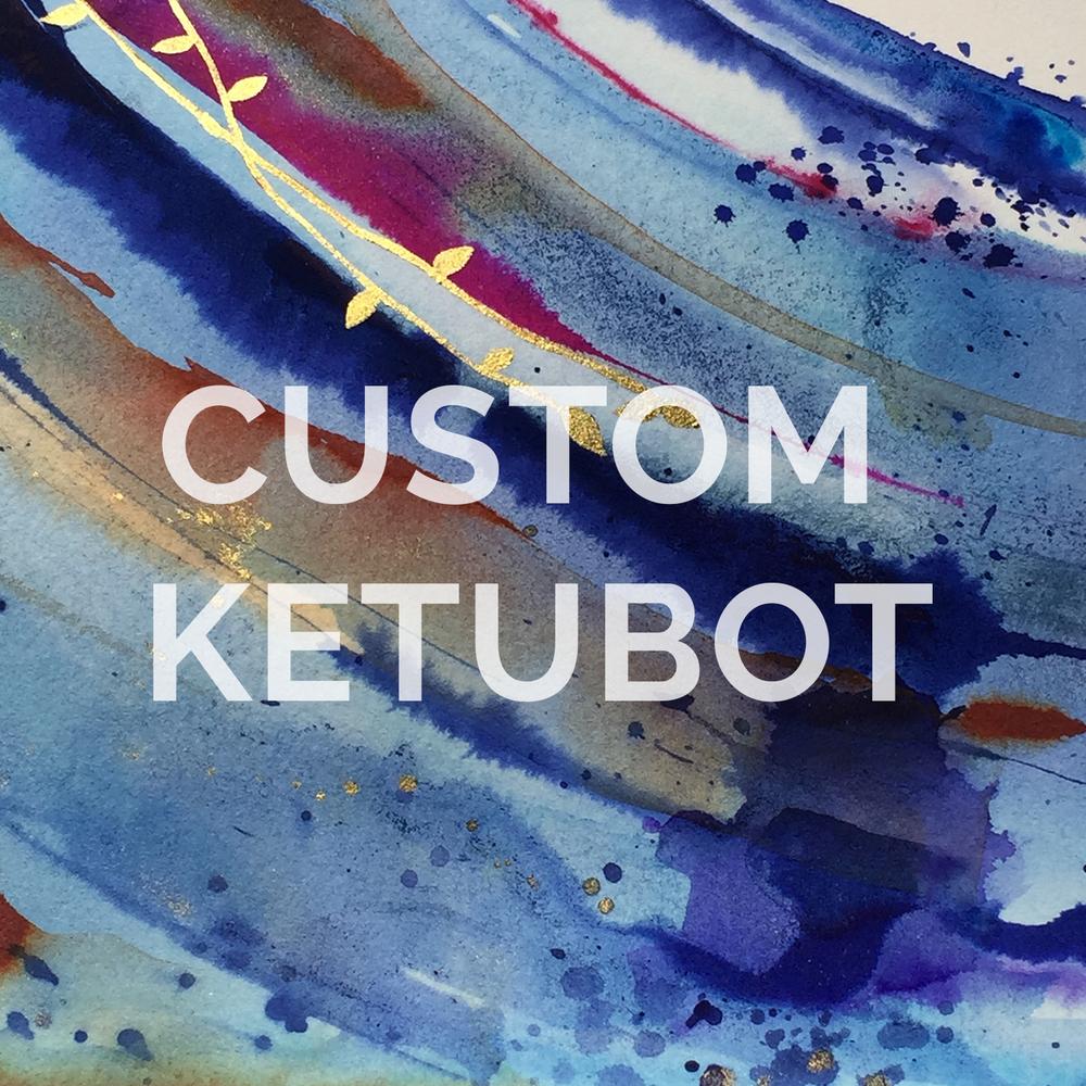 Custom Ketubot