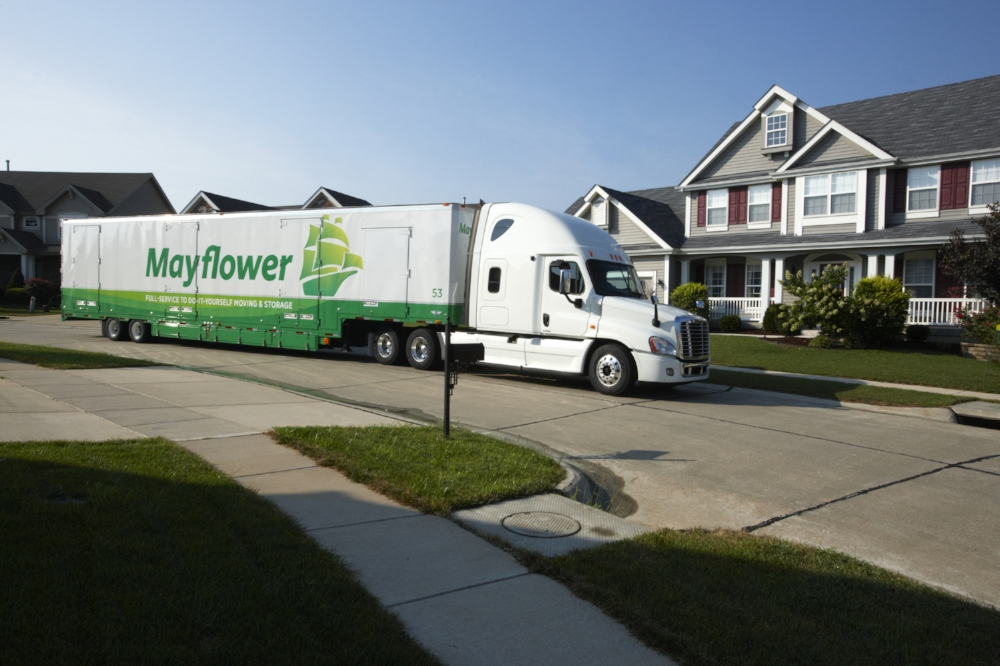 Charmant Master Movers Mayflower Truck