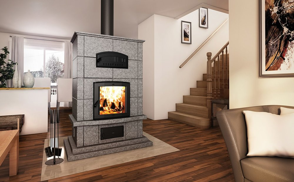 FM1000 Mass Fireplace W/Oven