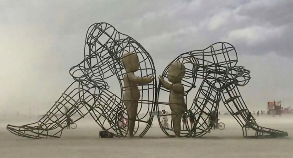 Image from the annual Burning Man event in Nevada