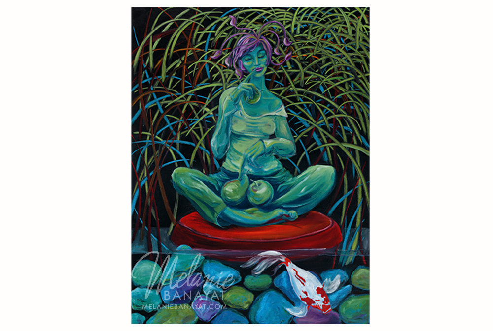 Green Goddess [giclee print]