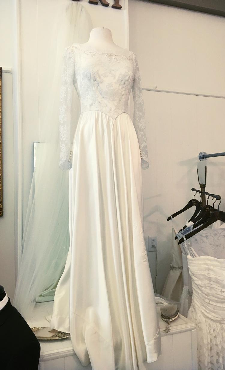 Vintage Sidewalk Sale — Ivory & Lace Bridal Boutique