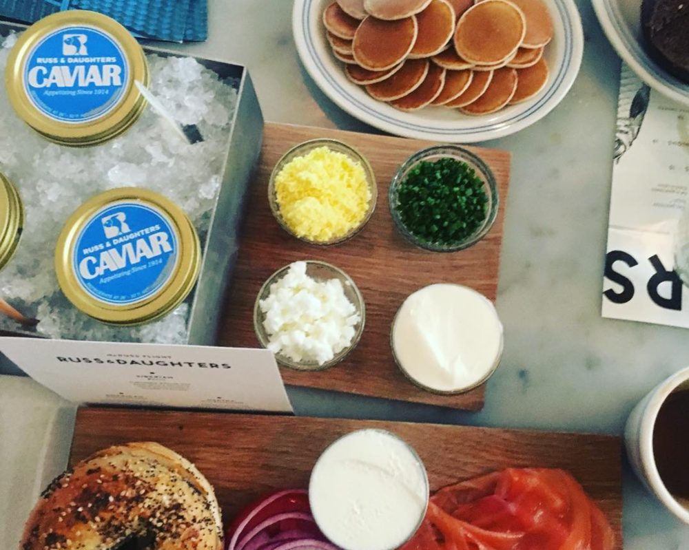 Pure NYC history & love Russ & Daughters Cafe 127 Orchard Street, New York, NY 10002