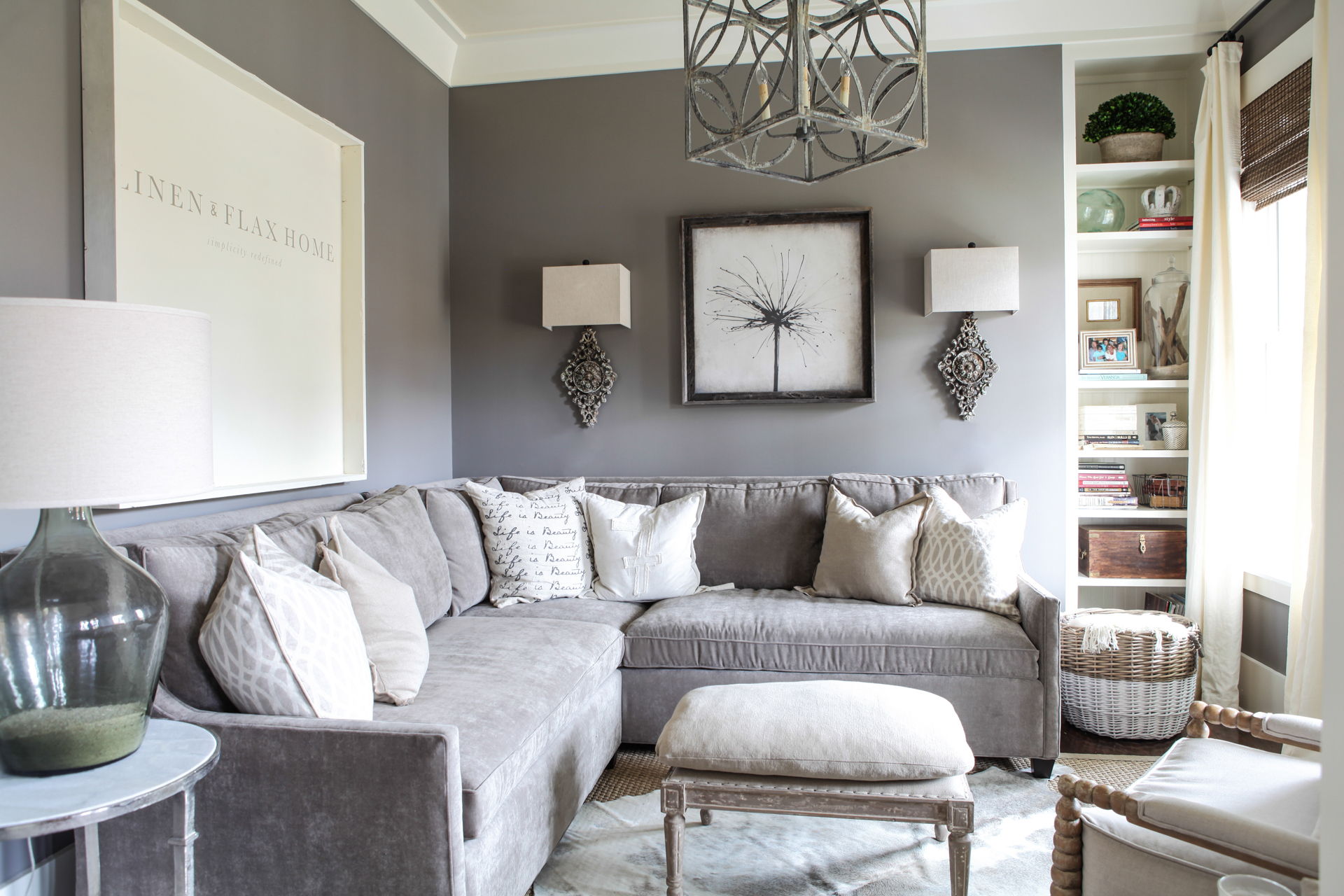 Awe Inspiring Linen Flax Home The Scoop On Sectional Sofas Inzonedesignstudio Interior Chair Design Inzonedesignstudiocom