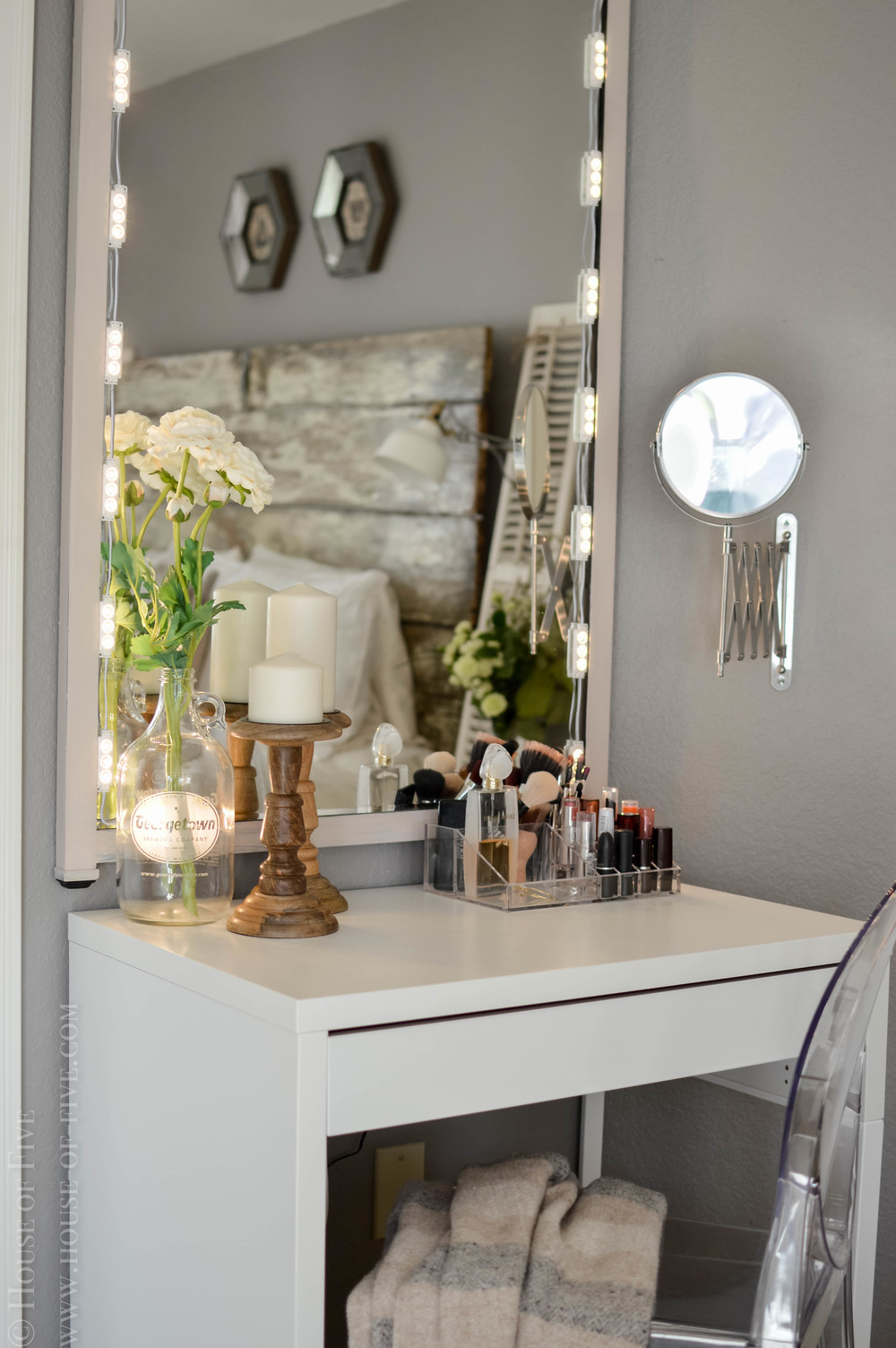Diy Vanity House Of Five