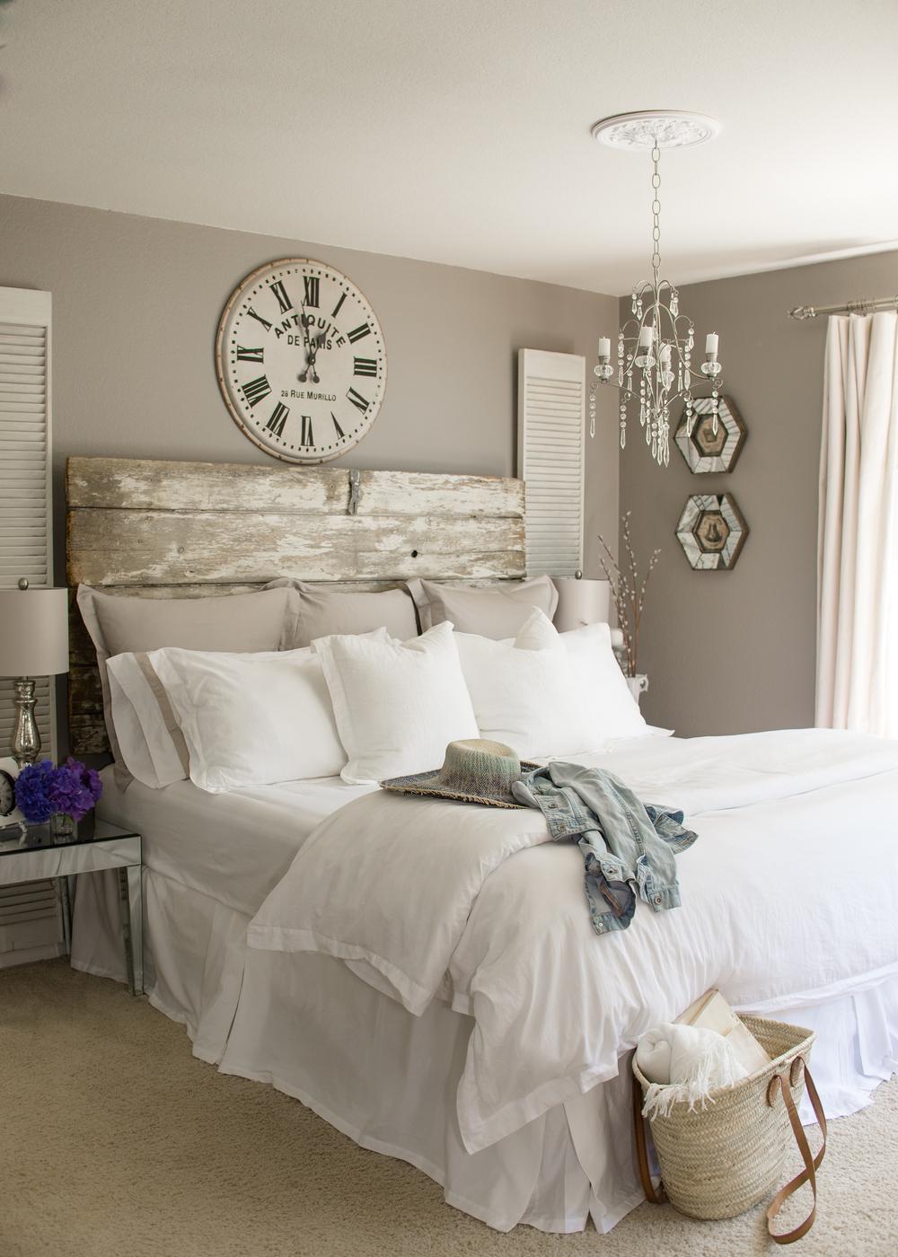Master Bedroom Design and Gel Foam Bed