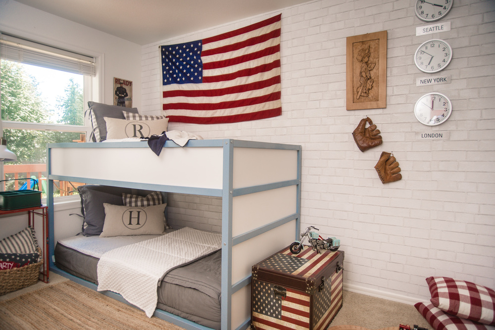 Boys Room vintage Americano - House of Five Blog